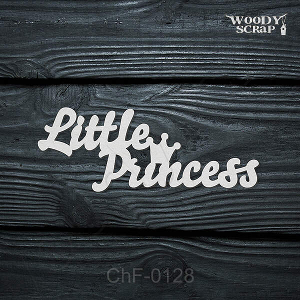 "Чипборд ""Little Princess"""